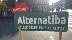 Après Alternatiba: une minute – une question sur Reporterre